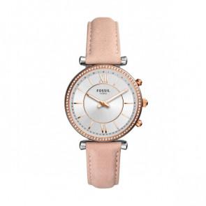 Horlogeband FTW5039 Leder Roze