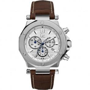 Horlogeband Guess GCX72001G1S Leder Bruin