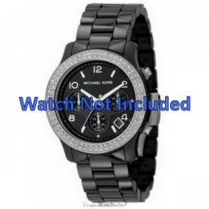 Michael Kors horlogeband MK5190 Keramiek Zwart 22mm