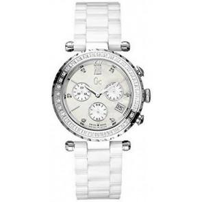Horlogeband Guess I01500M1 Keramiek Wit