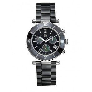 Horlogeband Guess GC43001M Keramiek Zwart