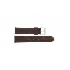 Horlogeband IQ12Q1074 (174526 ) Leder Bruin 20mm