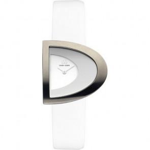 Horlogeband Danish Design IV12Q842 Leder Wit