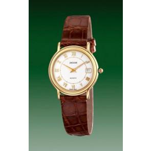Horlogeband Jaguar J601-2 Leder Bruin 14mm