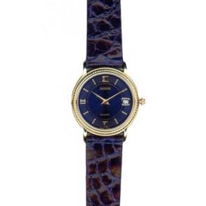 Horlogeband Jaguar J601-5 Leder Blauw 14mm
