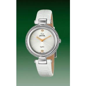 Horlogeband Jaguar J832-1 Leder Wit