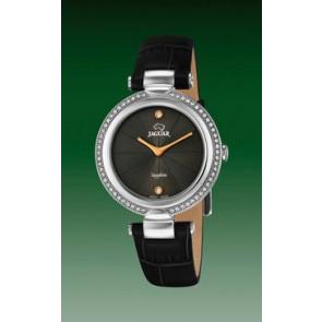 Horlogeband Jaguar J832-2 Leder Zwart