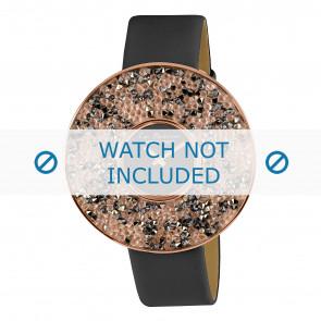 Jacob Jensen horlogeband LP-118C Leder Grijs