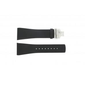 Horlogeband Calvin Klein K0Q21107 / K0Q21120 / K0Q211 Leder Zwart 29mm
