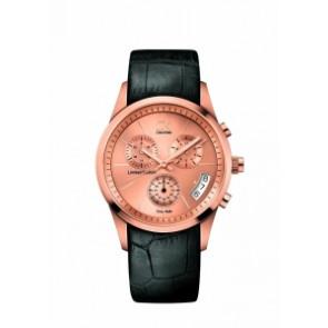 Horlogeband Calvin Klein K2247229 K600.078.206 Leder Zwart