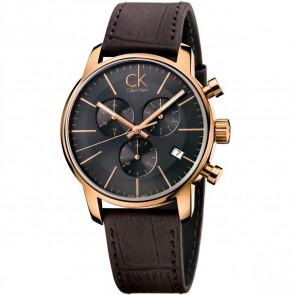 Horlogeband Calvin Klein K2G276G3 Leder Bruin