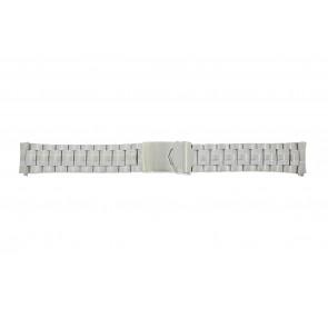 Calypso horlogeband K5112 / K5118 Staal Zilver 20mm
