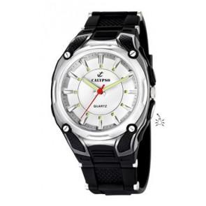 Horlogeband Calypso K5560-1 Rubber Zwart