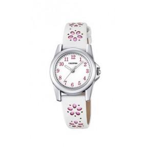 Horlogeband Calypso K5712-2 Leder Wit