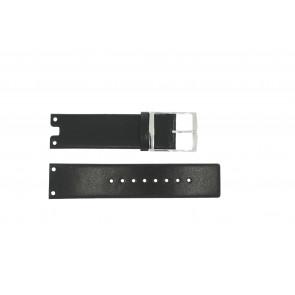 Horlogeband Calvin Klein K600.000.018 / K94231 / K9423107 / K600000018 Leder Zwart 22mm