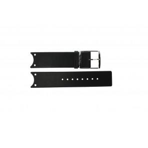 Calvin Klein horlogeband K0V23107 / K600.000.036 Leder Zwart