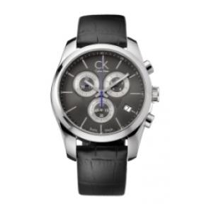 Horlogeband Calvin Klein 271 / K600000029 / K0K27161 / K0K27126 Leder Zwart 22mm