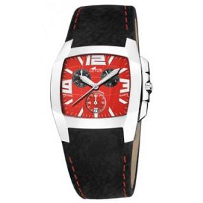 Horlogeband Lotus 15321-A Leder Zwart