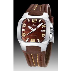 Horlogeband Lotus 15507-5 Leder Bruin 18mm