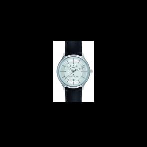 Horlogeband Maurice Lacroix LC1118-SS001-130-1 Leder Zwart 20mm