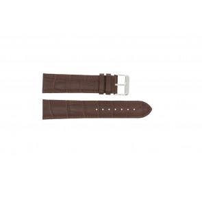 Horlogeband Condor 305L.02.22 XL Leder Bruin 22mm