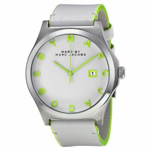 Horlogeband Marc by Marc Jacobs MBM1247 Leder Wit
