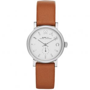 Horlogeband Marc by Marc Jacobs MBM1270 Glad leder Beige