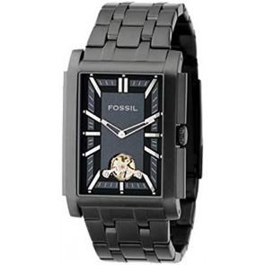 Horlogeband Fossil ME1043 Roestvrij staal (RVS) Zwart 26mm