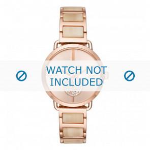 Michael Kors horlogeband MK3678 Staal Rosé 16mm