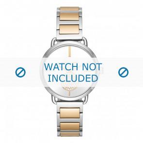 Michael Kors horlogeband MK3679 Staal Bi-Color 16mm