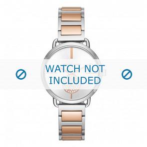 Michael Kors horlogeband MK3709 Staal Bi-Color 16mm