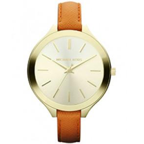 Horlogeband Michael Kors MK2275 Leder Oranje 12mm