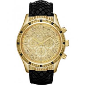 Horlogeband Michael Kors MK2310 Leder Zwart 22mm