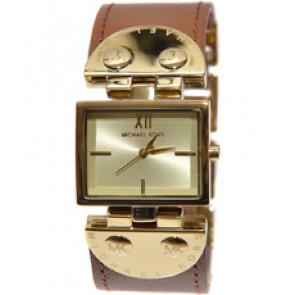 Horlogeband Michael Kors MK2361 Leder Bruin 26mm
