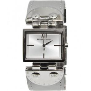 Horlogeband Michael Kors MK2364 Leder Grijs 26mm