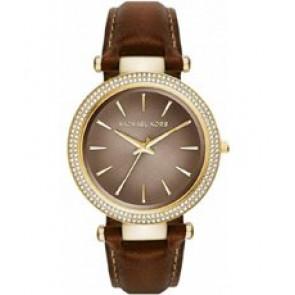 Horlogeband Michael Kors MK2382 Leder Bruin 18mm