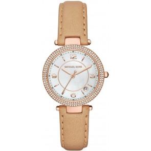 Horlogeband Michael Kors MK2463 Leder Bruin