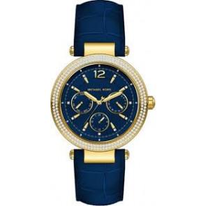Horlogeband Michael Kors MK2545 Leder Blauw