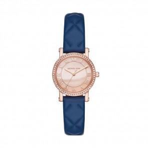 Horlogeband Michael Kors MK2696 Leder Blauw 14mm