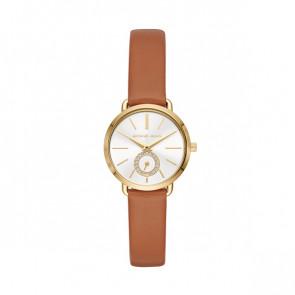 Horlogeband Michael Kors MK2734 Leder Cognac 12mm