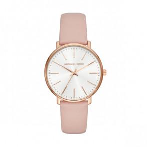 Horlogeband Michael Kors MK2741 Leder Roze 18mm