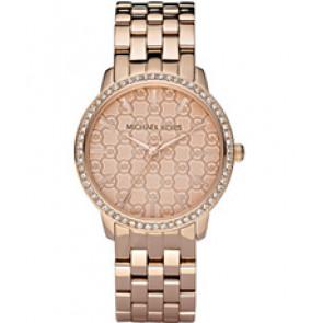 Horlogeband Michael Kors MK3156 Staal Rosé 18mm