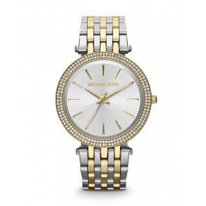 Horlogeband Michael Kors MK3215 Staal Bi-Color