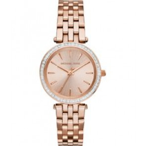 Horlogeband Michael Kors MK3366 Staal Rosé 16mm