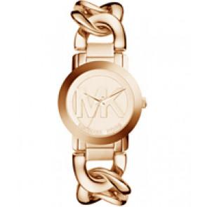 Horlogeband Michael Kors MK3386 Staal Rosé 19mm