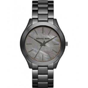 Horlogeband Michael Kors MK3413 Staal Antracietgrijs 20mm