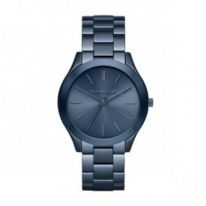 Horlogeband Michael Kors MK3419 Staal Blauw 20mm