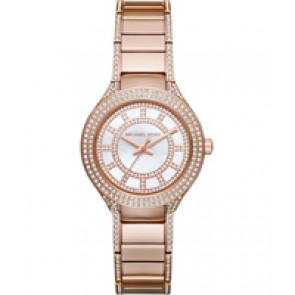 Horlogeband Michael Kors MK3443 Staal Rosé 12mm