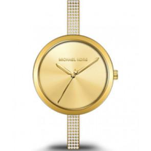 Horlogeband (Band + Kastcombinatie) Michael Kors MK3469 Staal Doublé 6mm