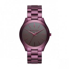 Horlogeband Michael Kors MK3551 Staal Paars 20mm
